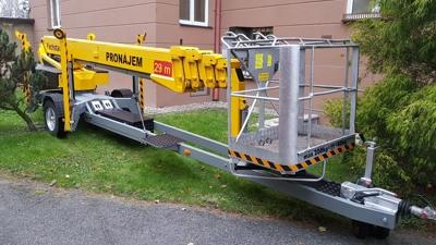 Pronájem vysokozdvižných plošin - Omme Lift 2900 EB